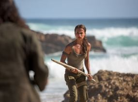 Tomb Raider - Lara Croft - film 2018 - Roar Uthaug - Alicia Vikander - merc combat