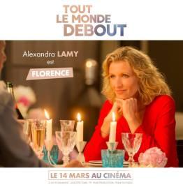 Tout le monde debout - film - handicap - humour - romance - Franck Dubosc - casting - alexandra lamy - florence