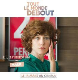 Tout le monde debout - film - handicap - humour - romance - Franck Dubosc - casting - Elsa Zylberstein - Marie