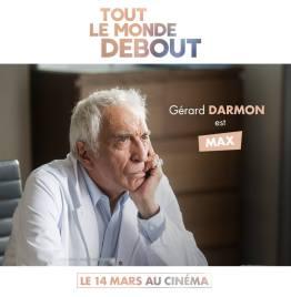Tout le monde debout - film - handicap - humour - romance - Franck Dubosc - casting - Gérard Darmon - Max
