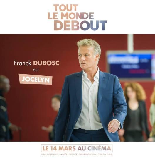 Tout le monde debout - film - handicap - humour - romance - Franck Dubosc - casting - jocelyn