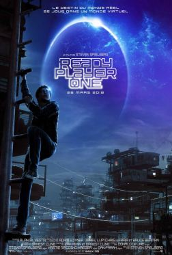 3Ready Player One - Steven SPielberg - science-fiction - action - virtuel - affiche 2