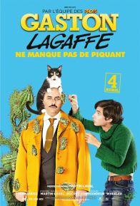 Gaston Lagaffe - Pierre-Francois Martin-Laval - adaptation franquin - Théo Fernandez - affiche - De Mesmaeker - Jerome Commandeur