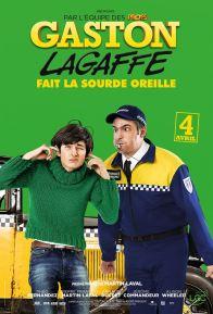 Gaston Lagaffe - Pierre-Francois Martin-Laval - adaptation franquin - Théo Fernandez - affiche - Longtarin Arnaud Ducret