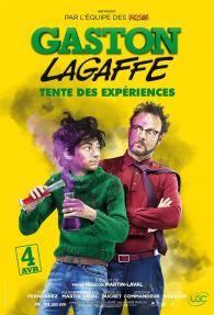 Gaston Lagaffe - Pierre-Francois Martin-Laval - adaptation franquin - Théo Fernandez - affiche