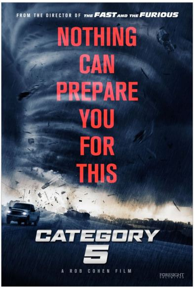 Hurricane - category 5 - film - braquage - catastrophe - Rob Cohen - affiche 3