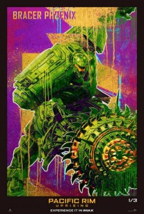Pacific Rim Uprising - suite - Steven S. DeKnight - affiche Bracer Phoenix