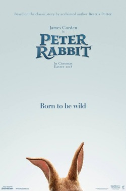 Pierre Lapin - Will Gluck - Adaptation Beatrix Potter - Domnhall Gleeson - anthropomorphes - lapins - affiche oreilles