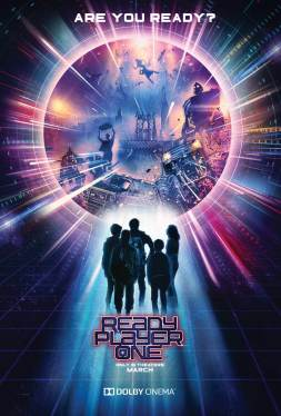 Ready Player One - Steven SPielberg - science-fiction - action - virtuel - affiche 4
