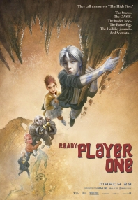 Ready Player One - Steven SPielberg - science-fiction - action - virtuel - affiche - goonies