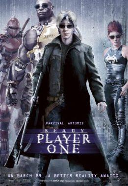 Ready Player One - Steven SPielberg - science-fiction - action - virtuel - affiche - matrix