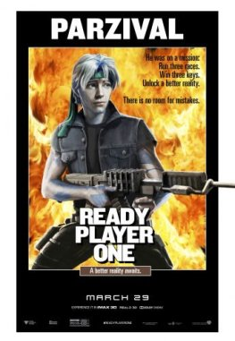Ready Player One - Steven SPielberg - science-fiction - action - virtuel - affiche - rambo