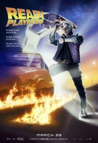 Ready Player One - Steven SPielberg - science-fiction - action - virtuel - affiche - retour vers le futur