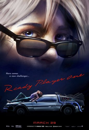 Ready Player One - Steven SPielberg - science-fiction - action - virtuel - affiche - risky business