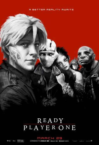 Ready Player One - Steven SPielberg - science-fiction - action - virtuel - affiche - the lost boys