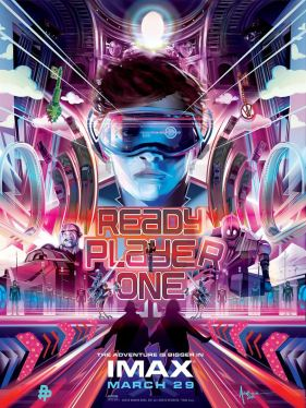 Ready Player One - Steven SPielberg - science-fiction - action - virtuel - affiche
