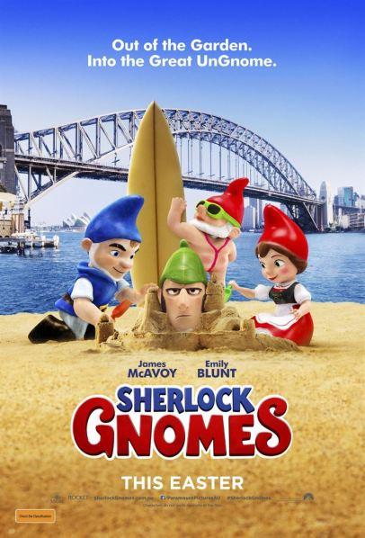 Sherlock Gnomes - affiche 2