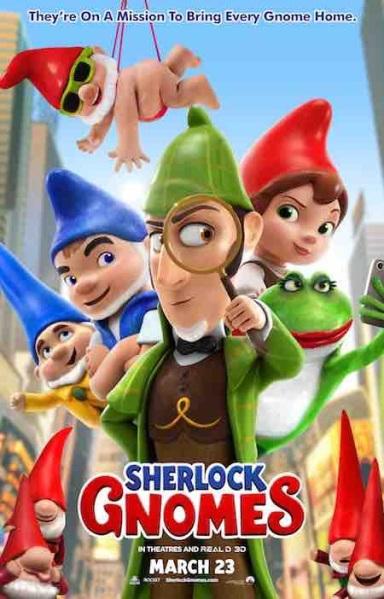 Sherlock Gnomes - affiche 3