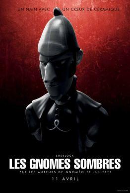 Sherlock Gnomes - affiche 6 - les heures sombres