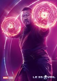 AVENGERS INFINITY WAR - Joe - Anthony RUsso - Marvel Universe - affiche Benedict Wong