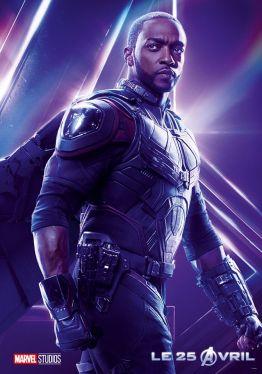 AVENGERS INFINITY WAR - Joe - Anthony RUsso - Marvel Universe - affiche Chadwick Boseman 2jpg