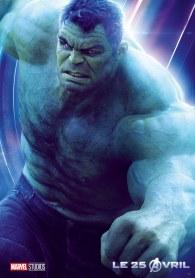 AVENGERS INFINITY WAR - Joe - Anthony RUsso - Marvel Universe - affiche Hulk - Mark Ruffalo