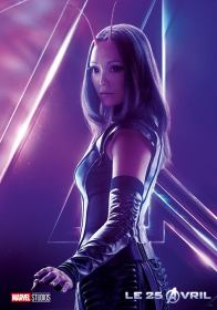 AVENGERS INFINITY WAR - Joe - Anthony RUsso - Marvel Universe - affiche Mantis - pom klementieff