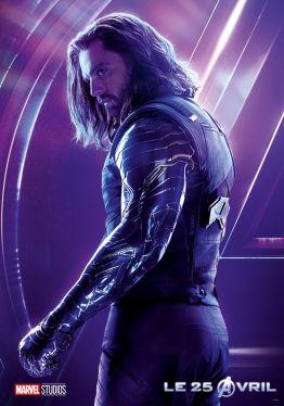 AVENGERS INFINITY WAR - Joe - Anthony RUsso - Marvel Universe - affiche Sebastian Stan