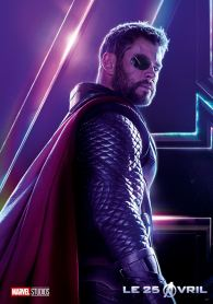 AVENGERS INFINITY WAR - Joe - Anthony RUsso - Marvel Universe - affiche Thor - Chris Hemsworth (2)