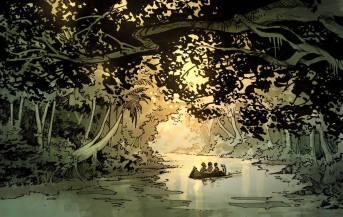 Au-delà de la rivière par Mathieu Gabella et Anthony Jean