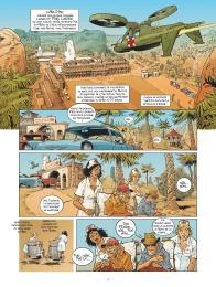 Habana 2150 - tome 1 - Vegas Paraiso - Cailleteau - Heloret - humour - parodie - futur proche - mafieux - p.1