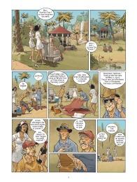 Habana 2150 - tome 1 - Vegas Paraiso - Cailleteau - Heloret - humour - parodie - futur proche - mafieux - p.2
