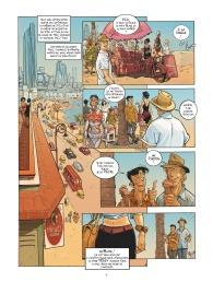 Habana 2150 - tome 1 - Vegas Paraiso - Cailleteau - Heloret - humour - parodie - futur proche - mafieux - p.4