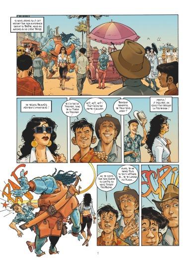 Habana 2150 - tome 1 - Vegas Paraiso - Cailleteau - Heloret - humour - parodie - futur proche - mafieux - p..5