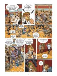Habana 2150 - tome 1 - Vegas Paraiso - Cailleteau - Heloret - humour - parodie - futur proche - mafieux - p.8