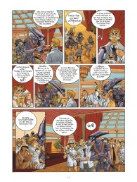 Habana 2150 - tome 1 - Vegas Paraiso - Cailleteau - Heloret - humour - parodie - futur proche - mafieux - p.9