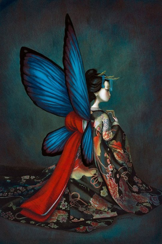 Madame Butterfly - Benjamin Lacombe
