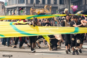 "Zinneke Parade 12/05/2018 ""Illégal"" © ManuGo Photography"