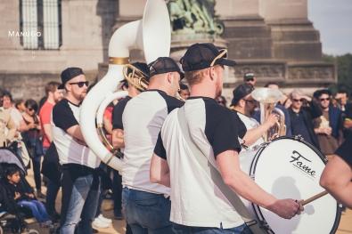 Fanfaire MONONK'S BAND @ La Fête de la Musique - Parc du Cinquantenaire 23/06/2018 © ManuGo Photography
