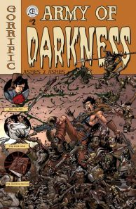 Army of Darkness - Ashes 2 Ashes - Evil Dead - comics - Andy Hartnell - Nick Bradshaw - Étienne St. Laurent - Jim Charalampidis - cover #2