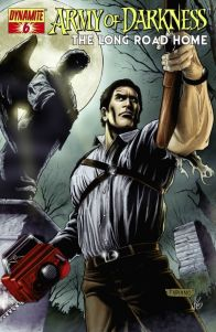 Army of Darkness - Evil Dead - Comics - the Long road home - James Kuhoric - Mike Raicht - Fernando Blanco - cover #2