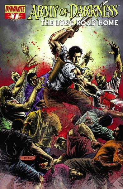 Army of Darkness - Evil Dead - Comics - the Long road home - James Kuhoric - Mike Raicht - Fernando Blanco - cover #7