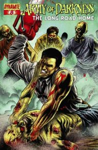 Army of Darkness - Evil Dead - Comics - the Long road home - James Kuhoric - Mike Raicht - Fernando Blanco - cover #8