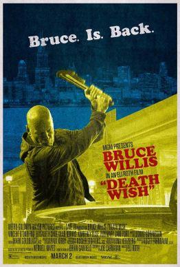 Death Wish - Un justicier dans la ville - eli roth - thriller - bruce Willis - affiche 2