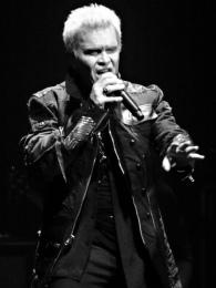 Billy Idol © Jean-Pierre Vanderlinden