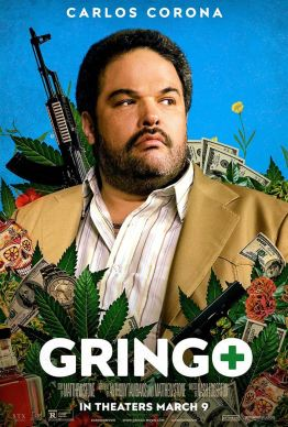 Gringo - Nash Edgerton - carlos corona - affiche