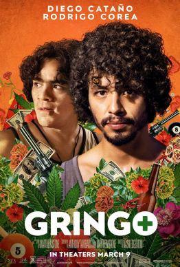 Gringo - Nash Edgerton - diego catano - rodrigo corea - affiche