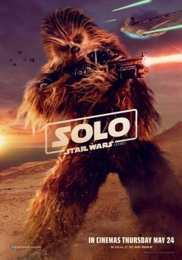 Solo - A Star Wars Story - Ron Howard - Chewbacca - affiche 2