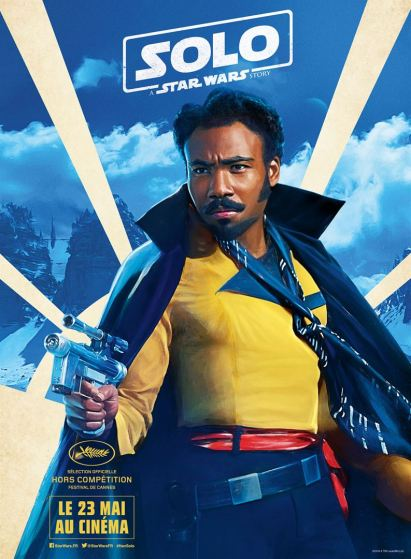 Solo - A Star Wars Story - Ron Howard - Donald Glover - affiche 4