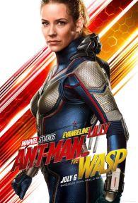 Ant-Man et la guêpe - super-héros - Evangeline Lilly - affiche
